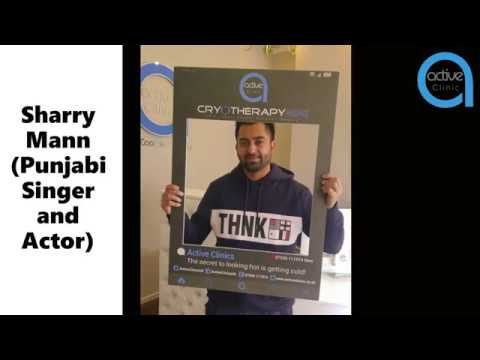 Sharry Mann First Indian Celebrity to use Whole Body Cryotherapy Chamber