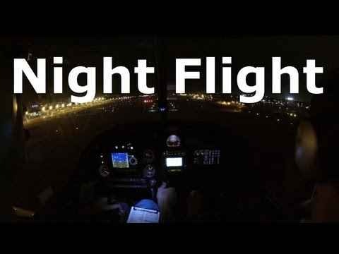Student Pilot - First Night Flight (long version)