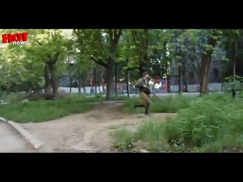 Дзержинск: утренний артобстрел 21.07.2014