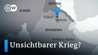 Tausende Tote? Äthiopiens Tigray-Konflikt eskaliert | DW Nachrichten