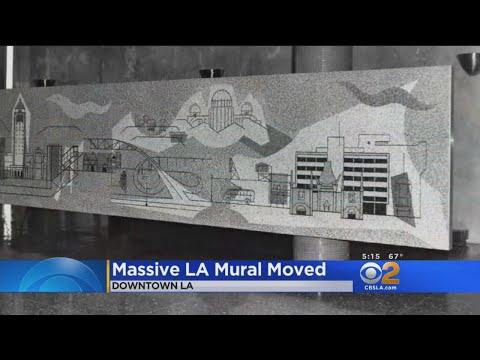 Massive LA Mural Removed From Parker Center
