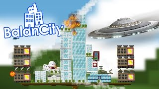 Balancity - When UFO's Attack! - Meteorite Impact - Balancity Gameplay Part 1