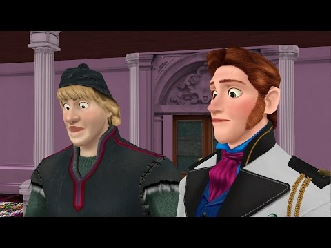 """MMD Frozen """"Kristoff and Hans and a Crying Kid"""" - funny animated cartoon meme Disney from YouTube · Duration:  46 seconds"""