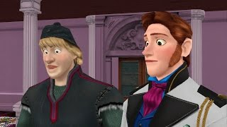 MMD Frozen quot;Kristoff and Hans and a Crying Kidquot;  funny meme animation Disney