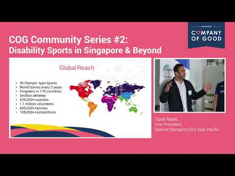 Community Series #2: Special Olympics Asia Pacific