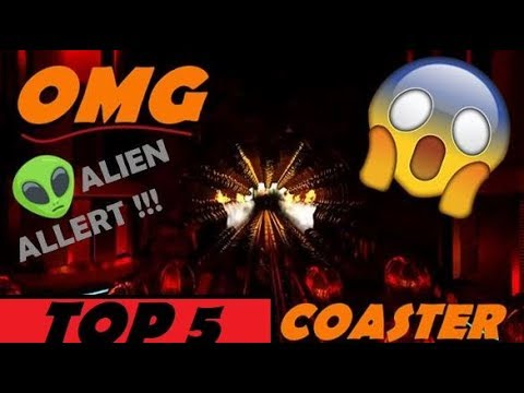 TOP 5 PLANET COASTER ROLLER COASTER | ALIENS THE RIDE【Planet Coaster】and MUCH MORE | POV (part 54)