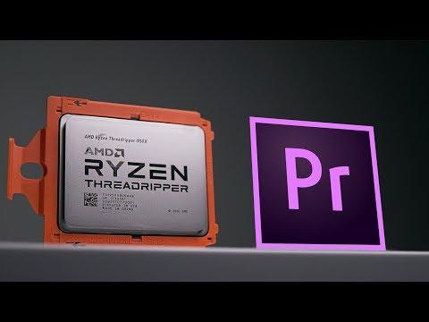 Don't Buy AMD Threadripper For Adobe Premiere Pro..