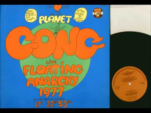 Planet Gong Live Floating Anarchy 1977 (full album)