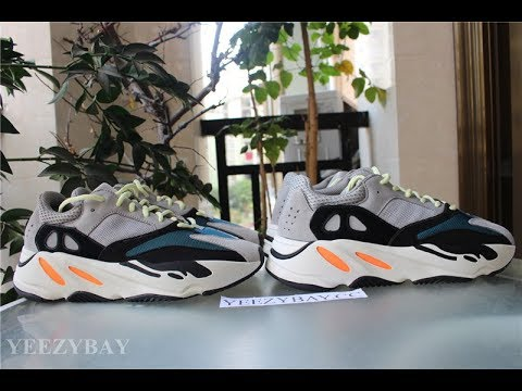 615d6c85692340 Real VS Fake Review: adidas yeezy boost 700 wave runner - YouTube