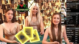 Three Card Poker Outlaw £2,300! STRAIGHT FLUSH WIN or Straight to ZERO? Mr Green Online Casino