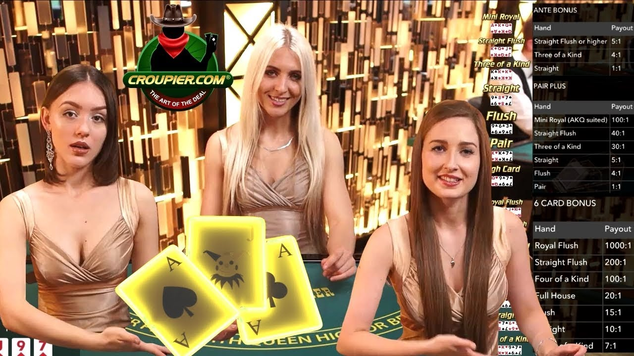 Three Card Poker Outlaw 2 300 Straight Flush Win Or Straight To