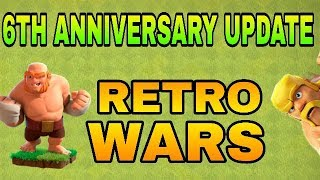NEW 6TH ANIVERSARY UPDATE || RETRO WARS ARE COMING OFICIALLY || CAPTAIN PRACHIR