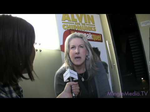 Chipmunks 2 DVD Release Party : Betty Thomas