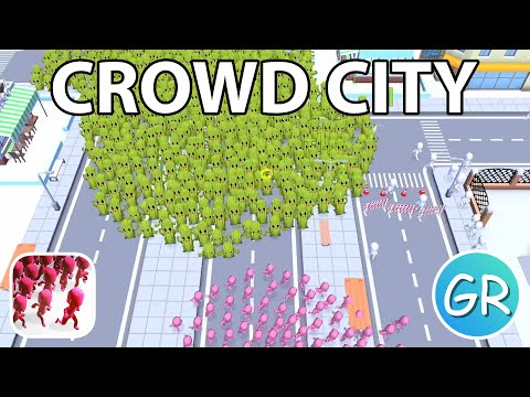 Crowd City Gameplay | Playing 1 Round With Each Skin (Part 1)