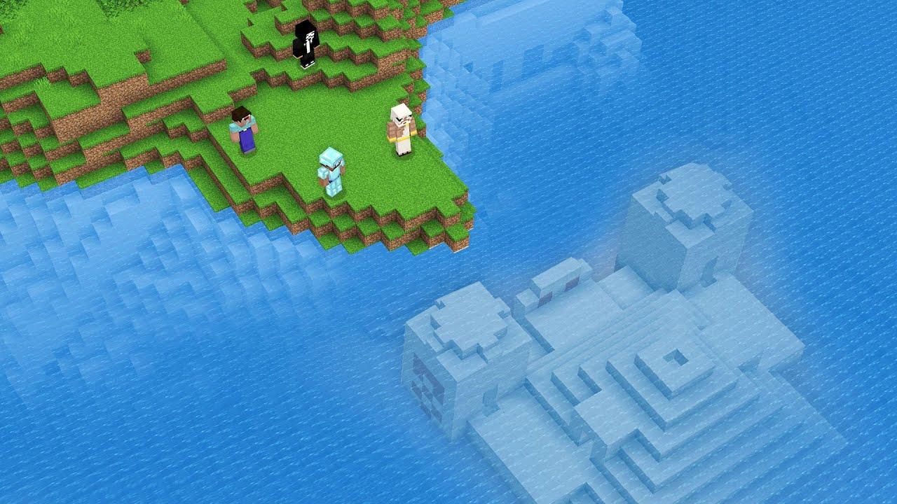 UNDERWATER DESERT DUNGEON CHELLENGE! SECRET Minecraft NOOB vs PRO vs HACKER vs GOD! 100% TROLLING