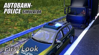 Autobahn Police Simulator - First Look