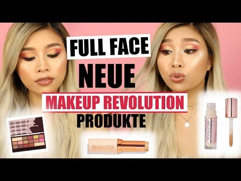 FULL FACE MAKEUP REVOLUTION neue Produkte! l Kisu