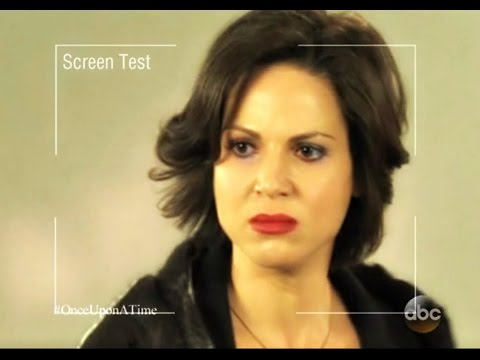 Lana Parrilla's Brief Screen Test for Evil Queen OUAT Special