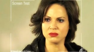Lana Parrilla's Brief Screen Test for Evil Queen (OUAT Special)