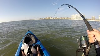 Kayak fishing Jax, Beach. BTB Adventure.