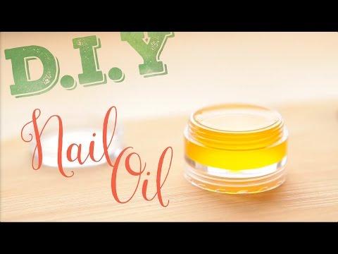 D.I.Y Nail Oil Уход за ногтями и масло для кутикулы. ПРОСТОЙ РЕЦЕПТ!