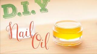 D.I.Y nail oil Уход за ногтями и масло для кутикулы. ПРОСТОЙ РЕЦЕПТ!(, 2016-01-30T09:42:42.000Z)