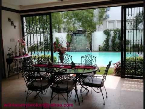 Loyola grand villas luxury house sale at quezon city 2012 youtube for House with swimming pool for rent in quezon city