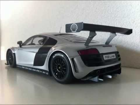 Audi r8 lms 1:18 Spark - YouTube