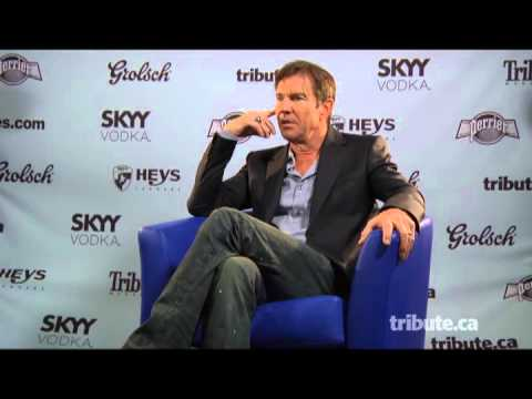 Dennis Quaid - At Any Price Interview with Tribute at TIFF 2012