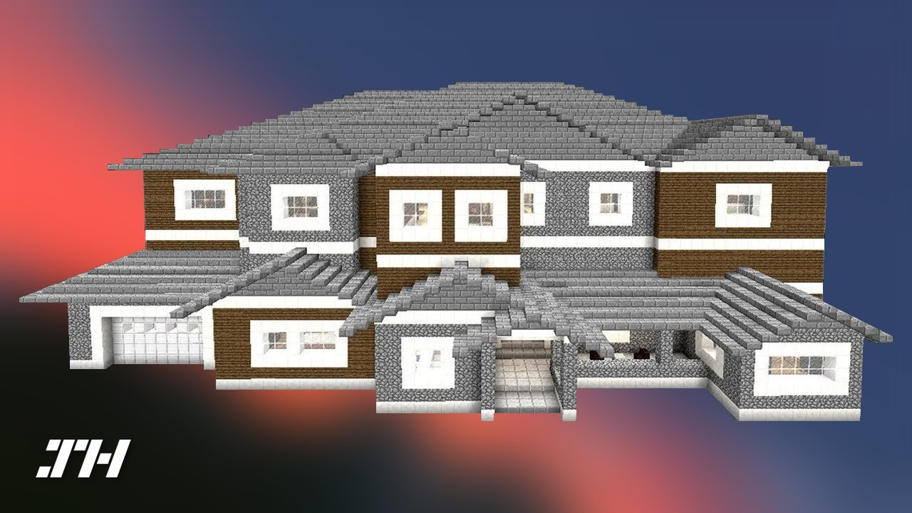 Minecraft house tour redstone edition youtube for How to make a blueprint of a house