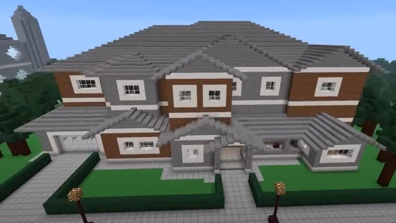 Minecraft House Tour Redstone Edition YouTube
