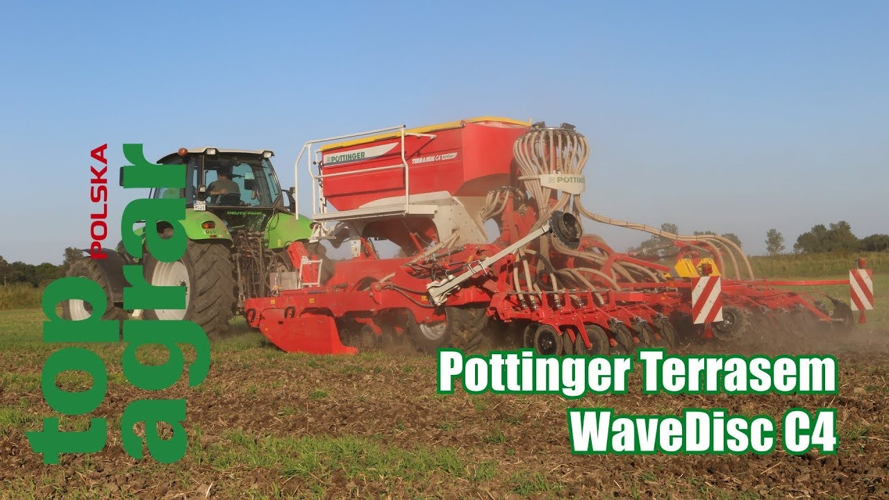Pöttinger Terrasem WaveDisc C4 – test top agrar Polska
