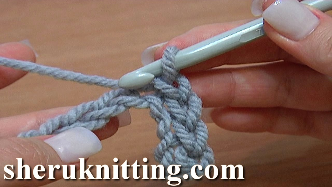 Slip Stitch Work Through Chain Stitches Tutorial 10 Crochet For