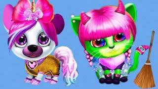 Fun Pet Care Kids Game - Kiki & Fifi Halloween Salon - Pet Makeover, Dress up