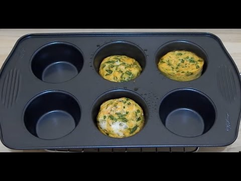 EASY HEALTHY BREAKFAST IDEAS! Quick Egg Muffins Recipe For Toddler & Kids   Omelette Cups