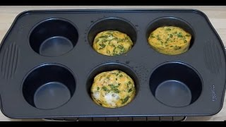 EASY HEALTHY BREAKFAST IDEAS! Quick Egg Muffins Recipe for Toddler & kids | Omelette Cups