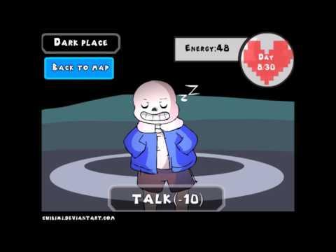 Underlovetale Dating Sim 2  -Episode 5 No Love (Failed Route)