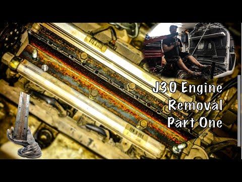 Pt1 Acura CL V6 J30 Prep To Pull   Custom Engine Hoist Plate   Project Fozda