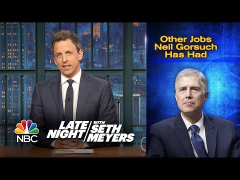 Other Jobs Neil Gorsuch Has Had