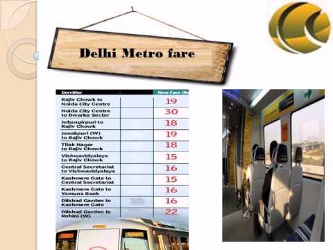 Delhi Metro Route, Delhi Metro Timings, Delhi Metro Fare