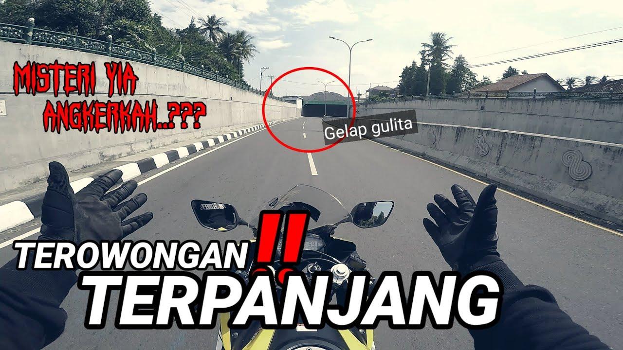 YIA❗TEROWONGAN TERPANJANG PENUH MISTERI    GELAP    Motovlog Indonesia