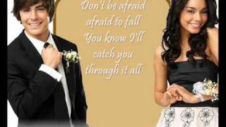 Can I Have This Dance - lyrics