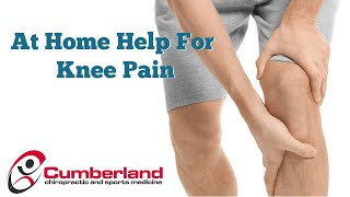 Home Help for Knee Pain