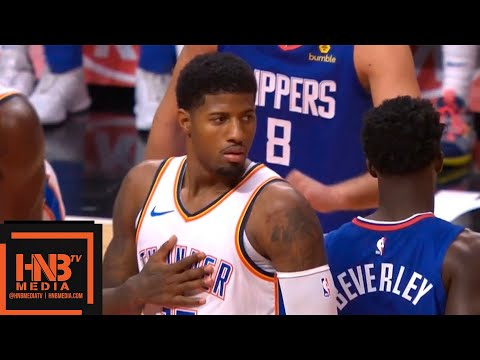 Oklahoma City Thunder vs LA Clippers 1st Half Highlights | 10.19.2018, NBA Season