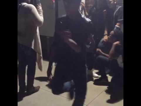 Justin dancing at Hiram Elementary School Fall Festival