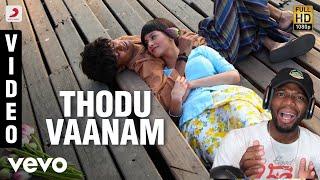 Download Anegan - Thodu Vaanam Video | Dhanush | Harris Jayaraj (REACTION)
