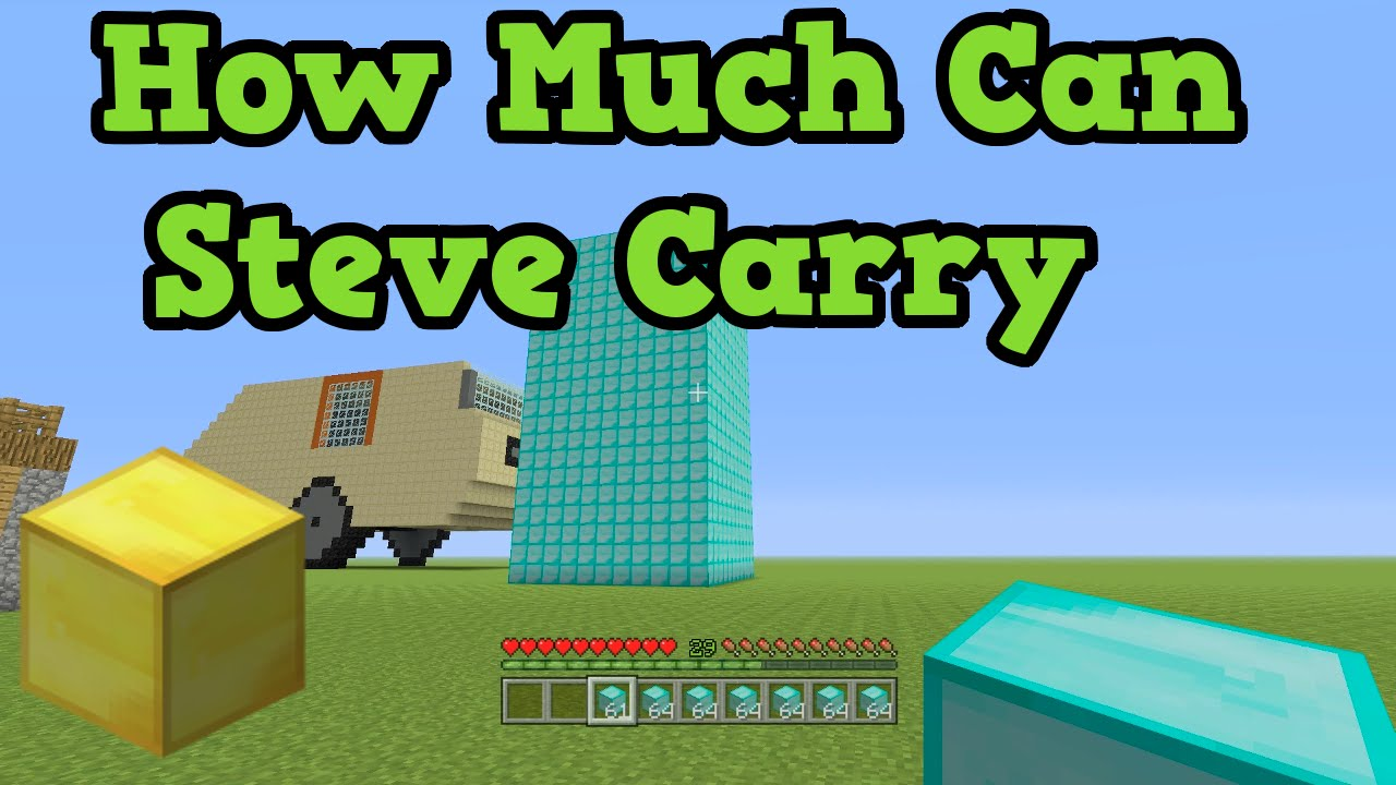 minecraft how to make steve