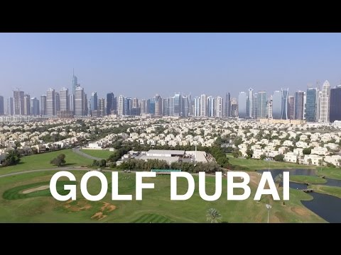 DRONING DUBAI GOLF | The Address Montgomerie