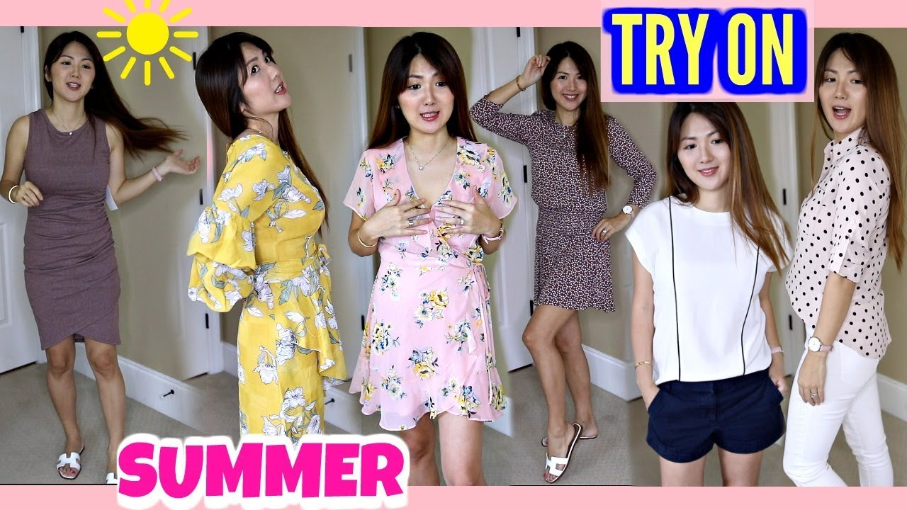 300eafd71bb SUMMER CLOTHING TRY-ON HAUL