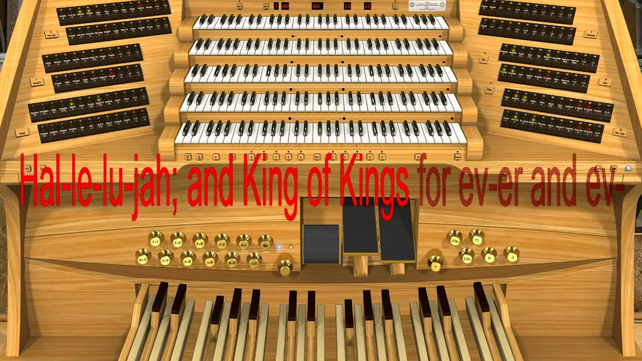 Handel messiah hallelujah chorus lyrics